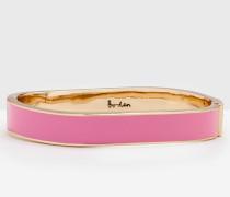 Schmaler Armreif Pink Damen Boden