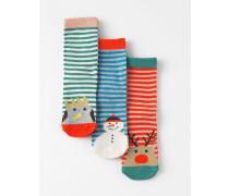 Neue Socken im 3er-Pack Bunt Mädchen