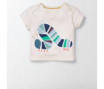 T-Shirt mit großer Applikation NEU