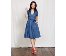 Lara Wickelkleid Blue Damen