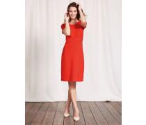 Cordelia Ottoman-Kleid Rot Damen