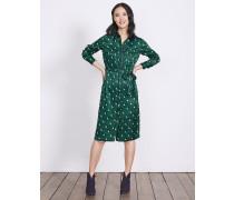 Jenna Hemdblusenkleid Green Damen