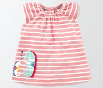 Sommerliches Jerseykleid mit Applikationen Pink Baby Boden