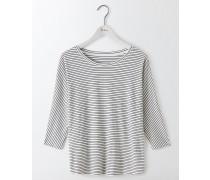 Superweiches Oversize-T-Shirt Gestreift Damen