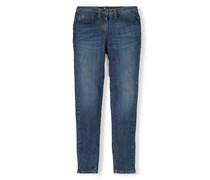 Knöchellange Jeans mit Reißverschlüssen Vintage Denim Damen