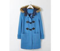 Dufflecoat aus Wolle Blue Damen