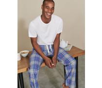 Pyjamahose aus Baumwollpopeline Grey Herren