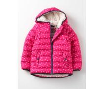 Gemütliche 2-in-1-Jacke mit Wattierung Pink Mädchen