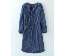 Boho-Jerseykleid Denim Damen