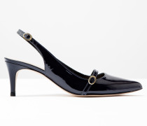 Die Slingbacks Navy Damen