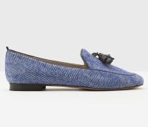 Ines Loafer Blue Damen