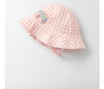 Hübsche gewebte Mütze Pink Baby Boden
