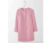 Strukturierter Sienna Mantel Pink Damen