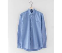 Oxfordhemd Blau Herren