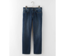 Jeans mit schmalem Bein Mittelblaues Denim Herren