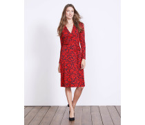 Jerseykleid in Wickeloptik Red Damen