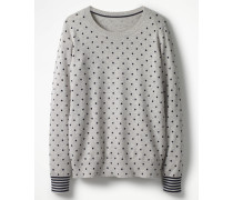 Pullover mit Muster Grey Damen