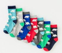 7er-Pack Socken BEA Jungen Boden