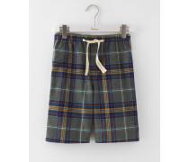 Shorts aus gebürsteter Baumwolle zum Relaxen Dunkelgrau Herren