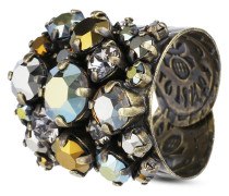 Ring Ballroom aus Metall mit Glassteinen