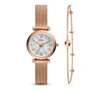 Set mit Quarzuhr & Armband Carlie ES4443SET