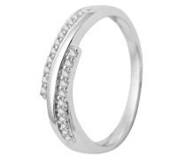 Ring aus 375 Weißgold mit 0.098 Karat Diamanten-53