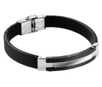 Armband aus Leder & Edelstahl