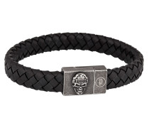Armband Eternal aus Leder & Edelstahl