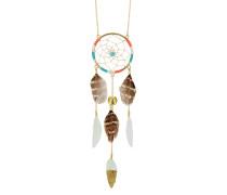 Halskette Salome mit Federn