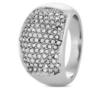 Ring Lume aus Edelstahl mit Kristallen-53
