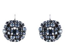 Ohrhänger Ballroom aus Metall mit Glassteinen