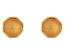 Ohrstecker aus vergoldetem 925 Sterling Silber mit Kristallen