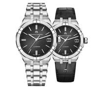 Uhren-Set Aikon Date AI6008-SS002-330-2