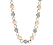 Halskette aus Edelstahl mit Swarovski-Steinen