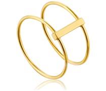 Damenring Modern Double Ring 925er Silber