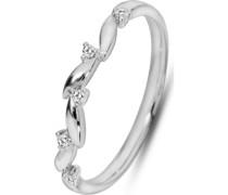 Damenring 5 Diamant