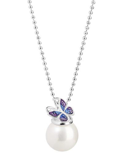 Halskette Mini's aus 925 Sterling Silber mit Muschelkernperle