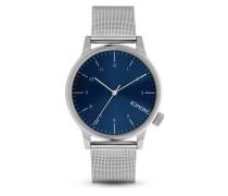 Quarzuhr Winston Royale Silver / Blue KOM-W2353