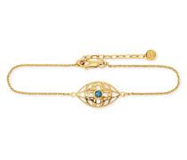 Armband Morocco Nights aus vergoldetem 925 Sterling Silber mit Topas