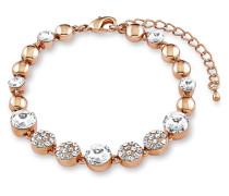 Armband rosévergoldet mit Swarovski-Steinen