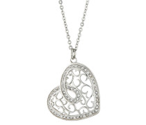 Halskette Woman`s Heart Edelstahl