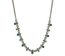 Halskette Mini Treasure aus Metall mit Glassteinen