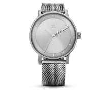 Quarzuhr District_M1 Z04-1920-00 All Silver