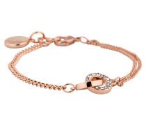 Armband Blizz rosévergoldet