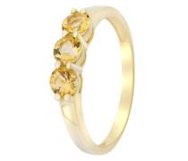Ring aus 375 Gold mit Citrinen-50