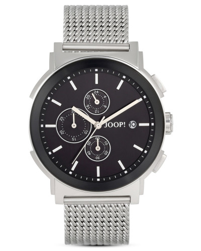 joop herren chronograph tom mesh jp101451007 reduziert. Black Bedroom Furniture Sets. Home Design Ideas