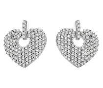 Ohrhänger aus 375 Weißgold mit 0.41 Karat Diamanten