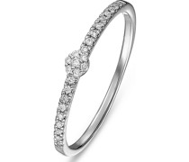 Damenring 25 Diamant