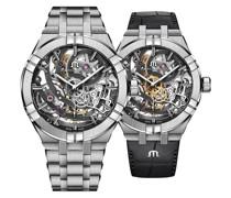 Uhren-Set Aikon Skeleton AI6028-SS002-030-2