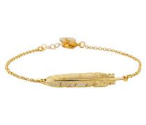 Armband Symbol vergoldet